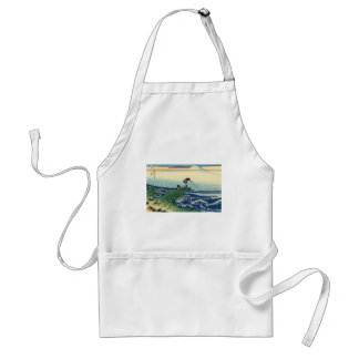 Japanese Hokusai Fuji View Landscape Standard Apron
