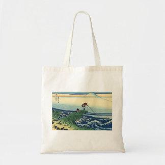 Japanese Hokusai Fuji View Landscape Tote Bag