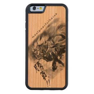 Japanese horse art sumi equestrian cherry iPhone 6 bumper