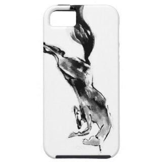 Japanese horse samurai art equestrian sumi iPhone 5 covers