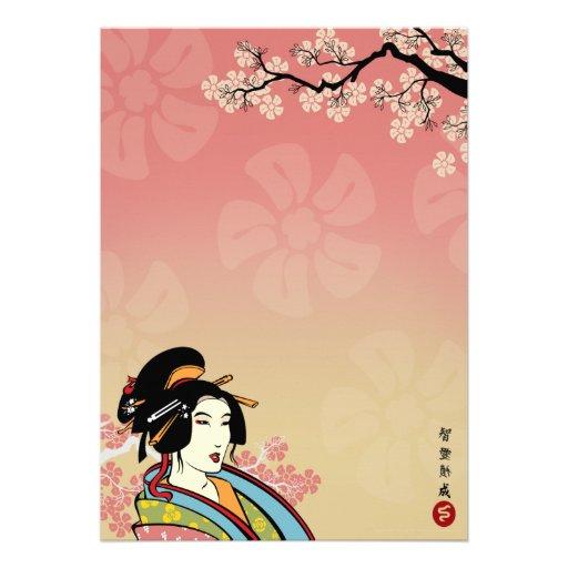 Japanese Invitations