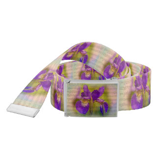 Japanese Iris Belt