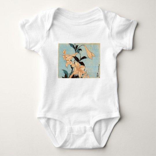 Japanese Irises Baby Bodysuit