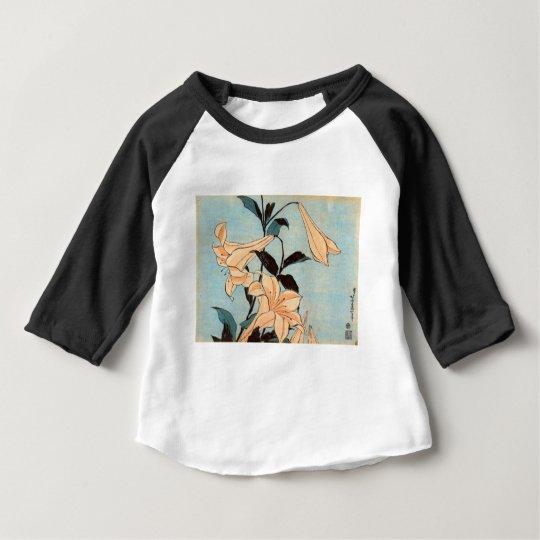 Japanese Irises Baby T-Shirt