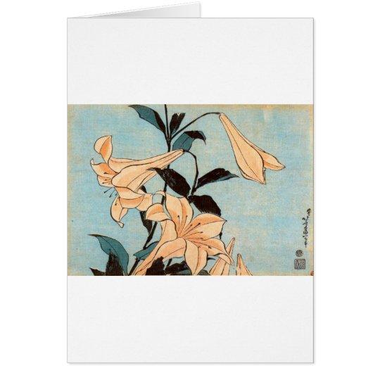 Japanese Irises Card