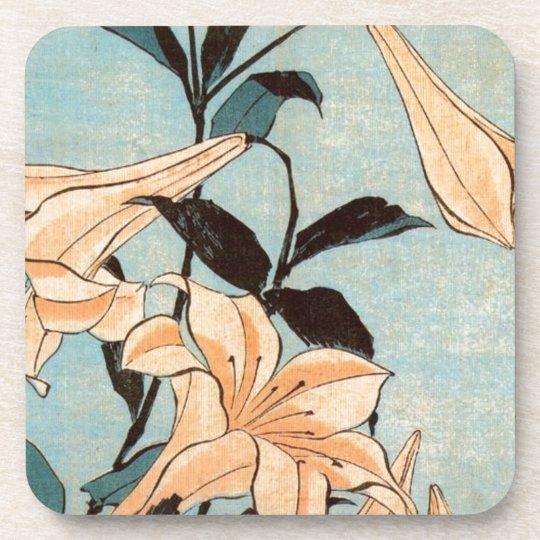 Japanese Irises Coaster