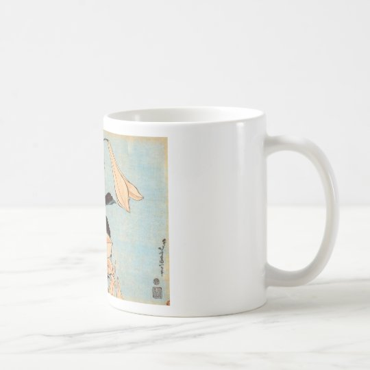 Japanese Irises Coffee Mug