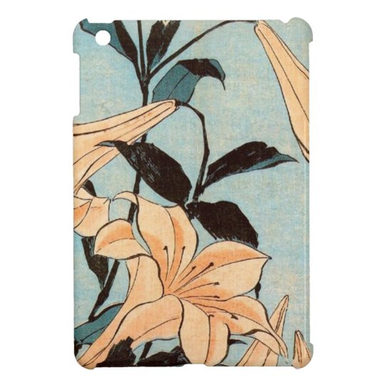 Japanese Irises Cover For The iPad Mini