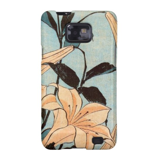 Japanese Irises Galaxy SII Case