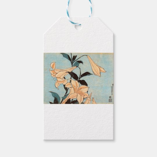 Japanese Irises Gift Tags