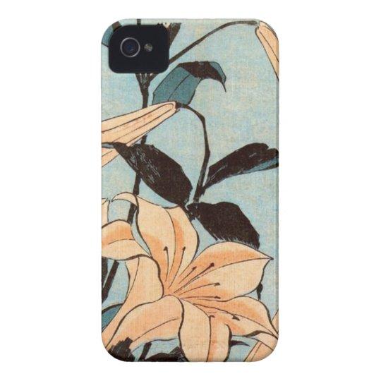 Japanese Irises iPhone 4 Cover
