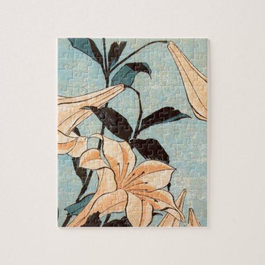 Japanese Irises Jigsaw Puzzle