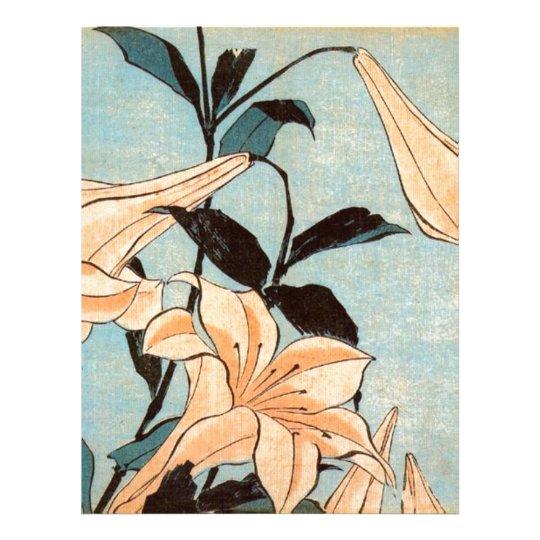 Japanese Irises Letterhead