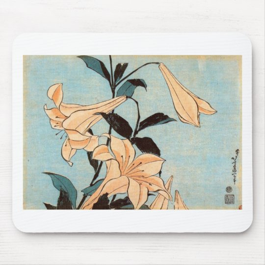 Japanese Irises Mouse Pad