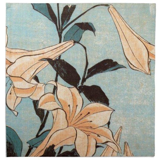 Japanese Irises Napkin