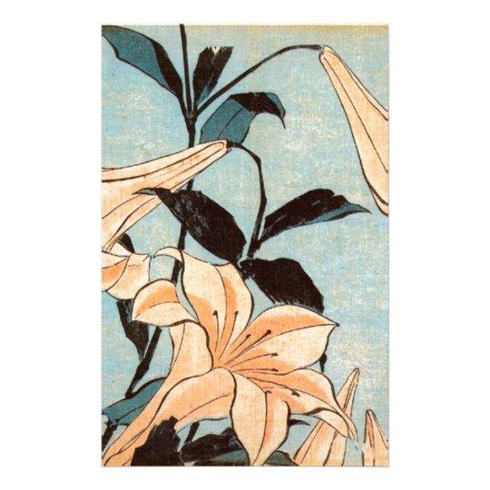 Japanese Irises Stationery