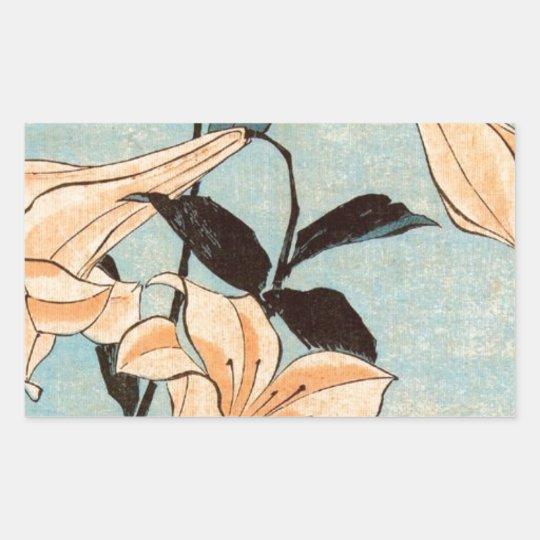 Japanese Irises Sticker