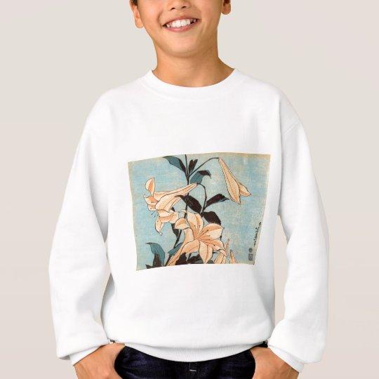 Japanese Irises Sweatshirt