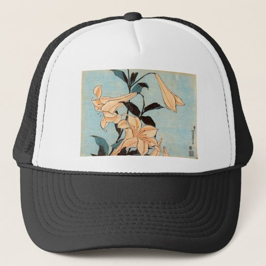 Japanese Irises Trucker Hat