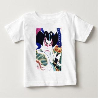 Japanese Kabuki Actor Art by Natori Shunsen 名取春仙 Baby T-Shirt
