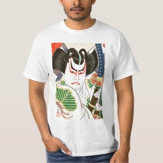 Japanese Kabuki Actor Art by Natori Shunsen 名取春仙 T-Shirt