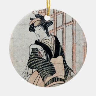 Japanese Kabuki Theater Actor ornament