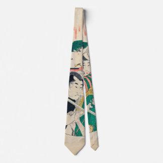 Japanese Kabuki Theater Tie