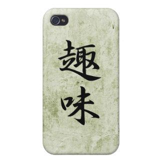 Japanese Kanji for Hobby - Shumi iPhone 4/4S Case
