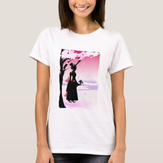 Japanese Kimono Girl T-Shirt