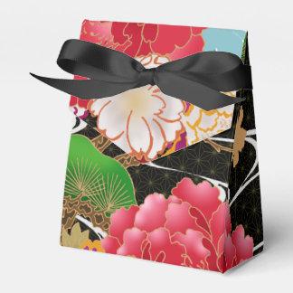 Japanese kimono pattern favor box