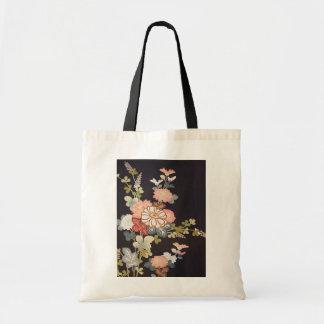 Japanese KIMONO Textile, Floret Pattern