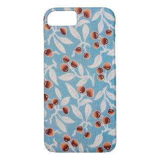 Japanese KIMONO Textile, Tree nuts iPhone 7 Case