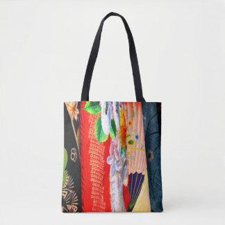 Japanese Kimono Tote Bag