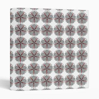 Japanese knotweed (grey) folder vinyl binder