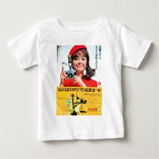 Japanese Kodak Camera Poster Advertisement Baby T-Shirt
