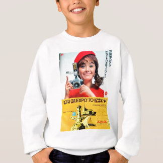 Japanese Kodak Camera Poster Advertisement Sweatshirt