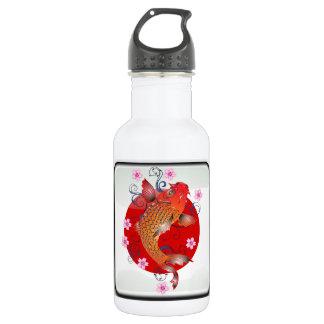 Japanese koi carp 532 ml water bottle