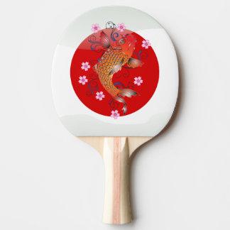 Japanese koi carp Ping-Pong paddle
