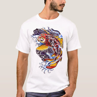 Japanese Koi Carp Tattoo T-Shirt