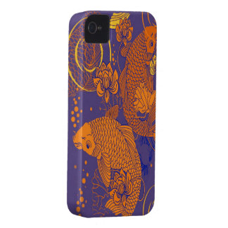 japanese koi Case-Mate iPhone 4 cases