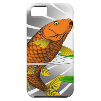 Japanese Koi Fish Pond Design Case For The iPhone 5