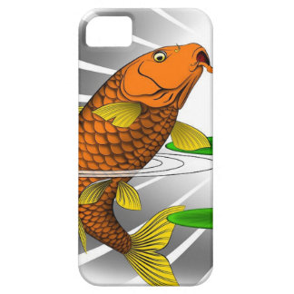 Japanese Koi Fish Pond Design iPhone 5 Case