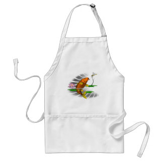Japanese Koi Fish Pond Design Standard Apron