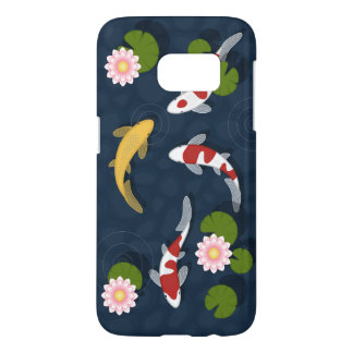 Japanese Koi Fish Pond Samsung Galaxy S7 Case