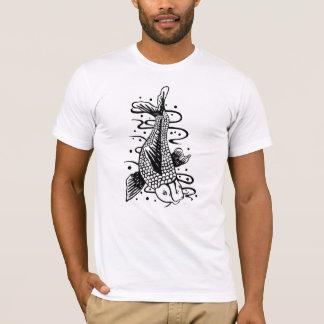 Japanese Koi Fish Tattoo Style Novelty T-Shirt