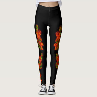 Japanese Koi Leggings