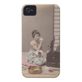 Japanese Lady Geisha Asian Vintage Art iPhone 4 Case