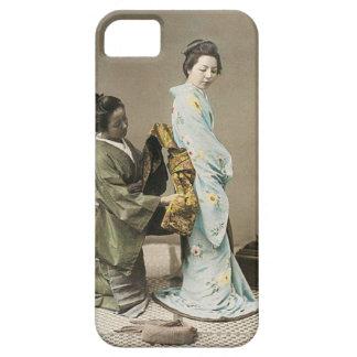 Japanese Lady Geisha Asian Vintage Art iPhone 5 Cases