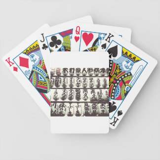 Japanese Laterns Bicycle Playing Cards