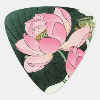 JAPANESE LOTUS FLOWER Guitar Pick